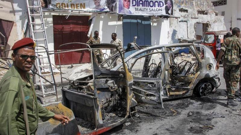 Dschihadisten-Anschlag in Mogadischu: Mindestens drei Tote