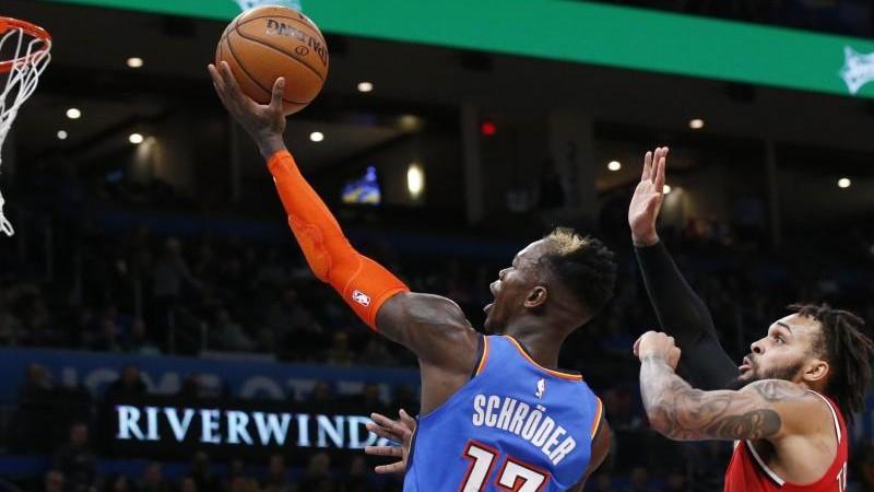NBA: Schröder und Oklahoma bezwingen Portland
