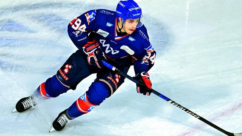 Eishockey-Stürmer Hungerecker verlässt Adler Mannheim