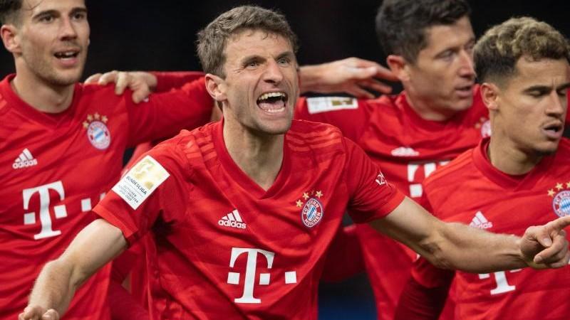 """Paradebayer Müller hat's """"noch drauf"""""""