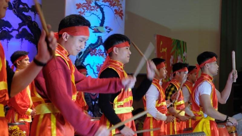 Vietnamesen in Deutschland feiern Neujahr