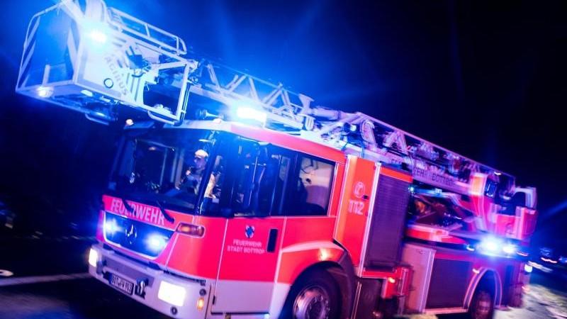 Mensch stirbt bei Brand im Schwarzwald