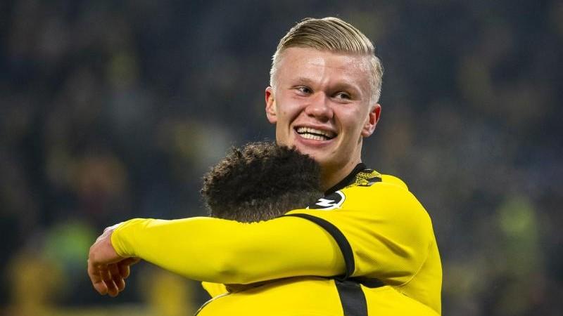 """Super Einstand"": BVB-Neuzugang Haaland schreibt Geschichte"