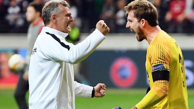 Eintracht Frankfurt trennt sich von Torwarttrainer Petz