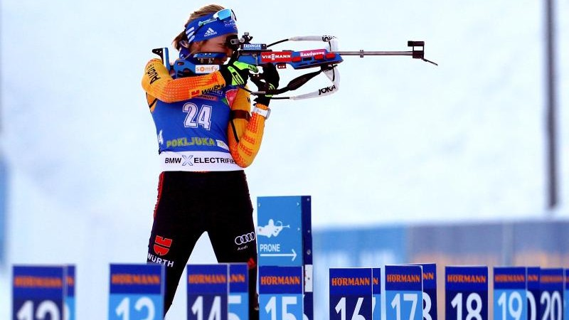 Preuß und Lesser im Biathlon-Single-Mixed Elfte