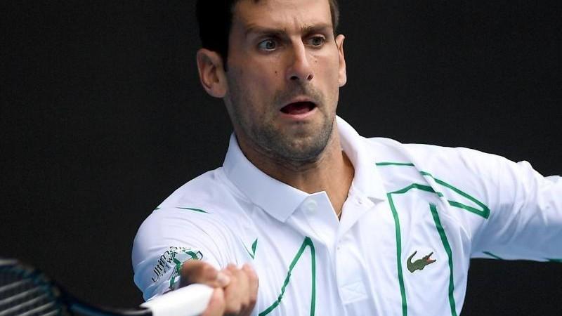 Titelverteidiger Djokovic im Viertelfinale - Gauff raus