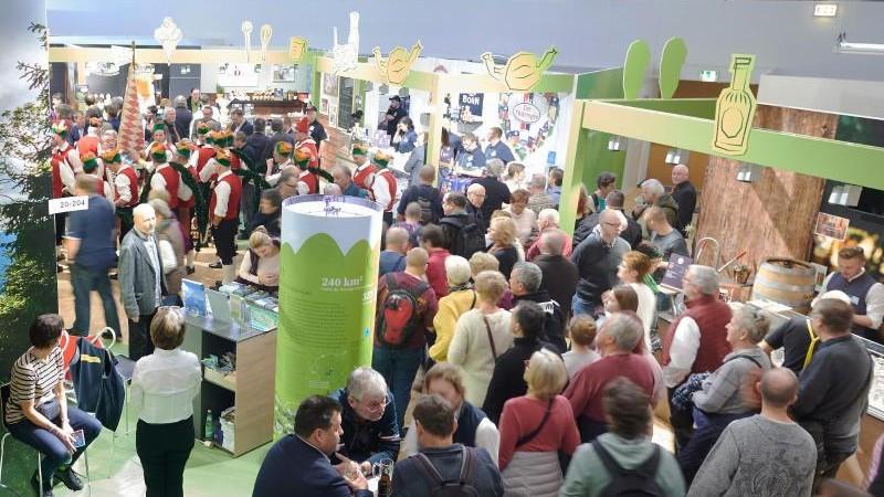 Backhaus zieht positive Bilanz für MV-Halle auf Grüner Woche