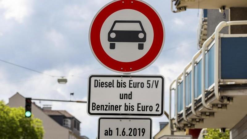 Gut 12 000 Verstöße in Darmstadt gegen Fahrverbote