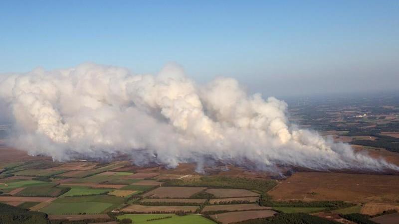 Meppener Moorbrand beschäftigt weiter die Staatsanwaltschaft