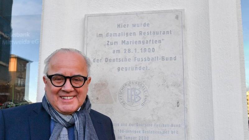 DFB-Präsident Keller stellt Osten Länderspiel in Aussicht