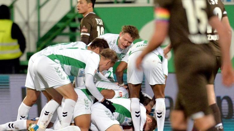 Greuther Fürth bezwingt FC St. Pauli
