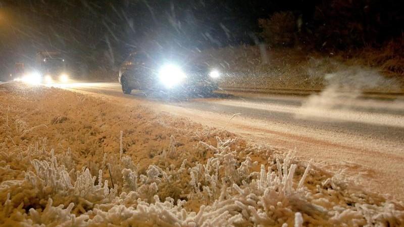 Viele Unfälle bei Schnee und Glätte
