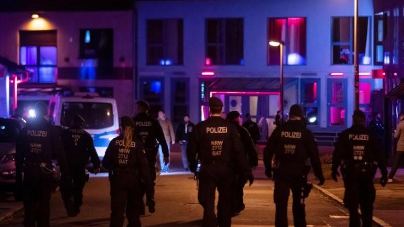Razzia in Rotlichtviertel: Stadt Essen schließt Bordell