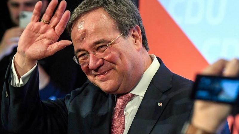 Laschet hat im Kandidatenrennen Unterstützung der NRW-CDU