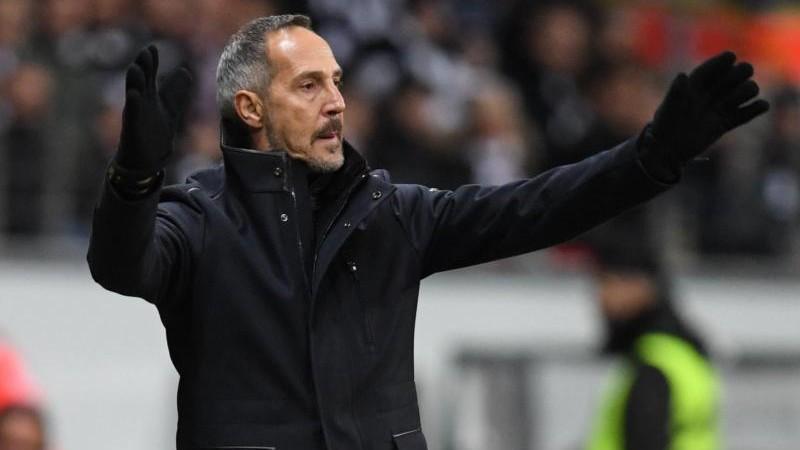 Eintracht-Coach Hütter rotiert in Salzburg