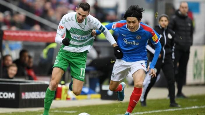 Fussball Kiel Holstein Kiel Holt Punkt Gegen Greuther Furth Sport Sz De