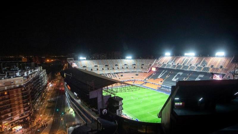 Weitere Corona-Test beim FC Valencia: 35 Prozent positiv