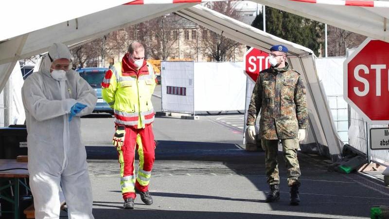 Soldaten aus Hessen unterstützen ASB in Gera