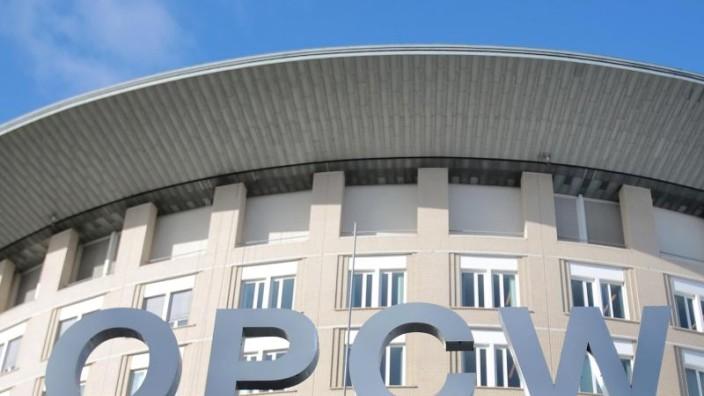 OPCW will Schuldige von Giftgasangriffen in Syrien nennen