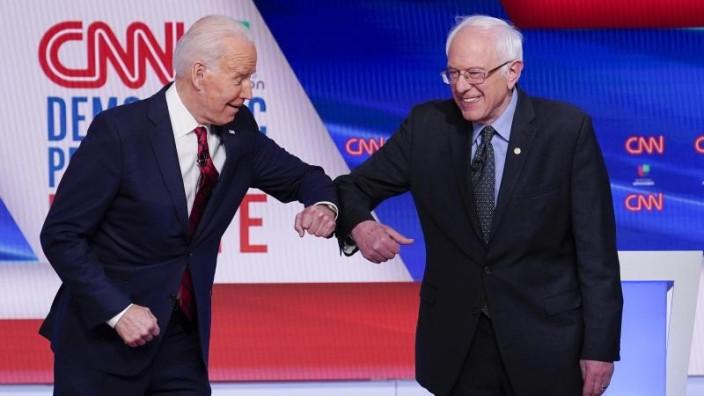 Sanders sichert Biden Unterstützung zu