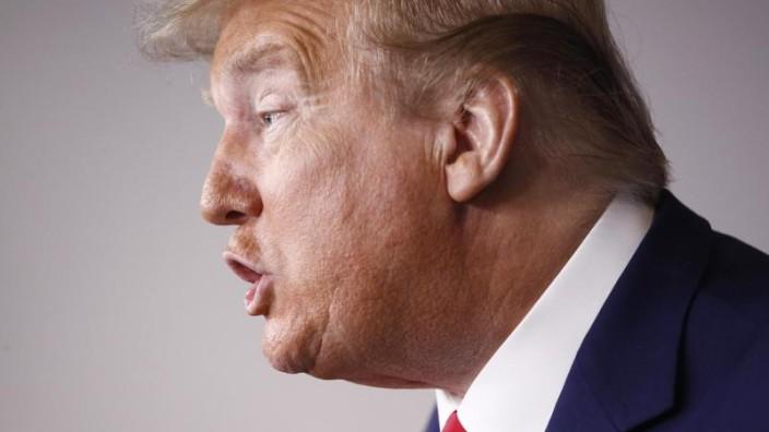 Trump greift China in Corona-Krise an