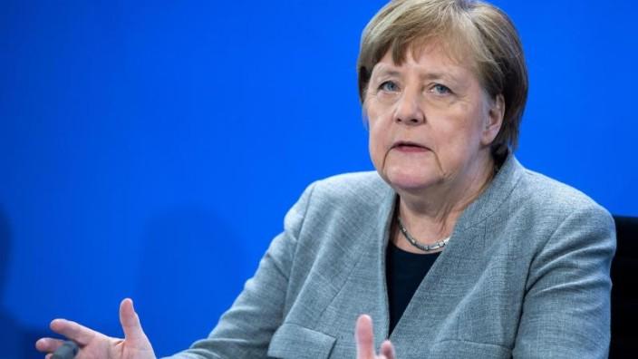 Corona-Diskussionen: Jetzt reicht es Angela Merkel - Sie spricht ein Machtwort!