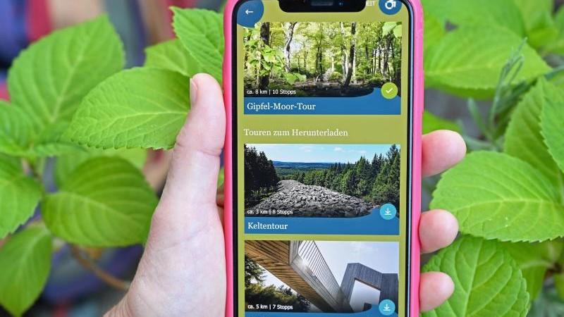 Neu App für Nationalpark Hunsrück-Hochwald