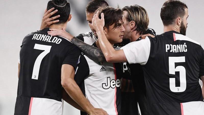 Juventus Turin baut Vorsprung an der Spitze vorerst aus