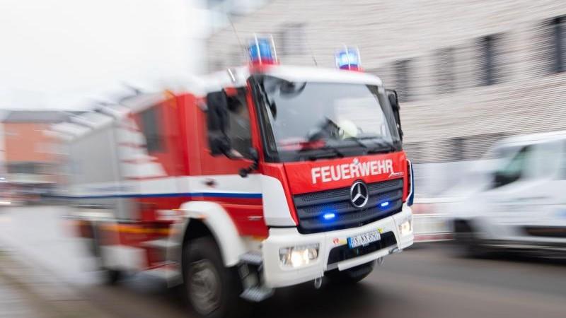 Brand in Dessauer Industriegebäude: 750 000 Euro Schaden