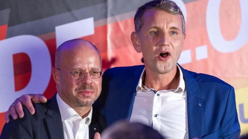 Protest gegen Auftritt von Höcke und Kalbitz angekündigt