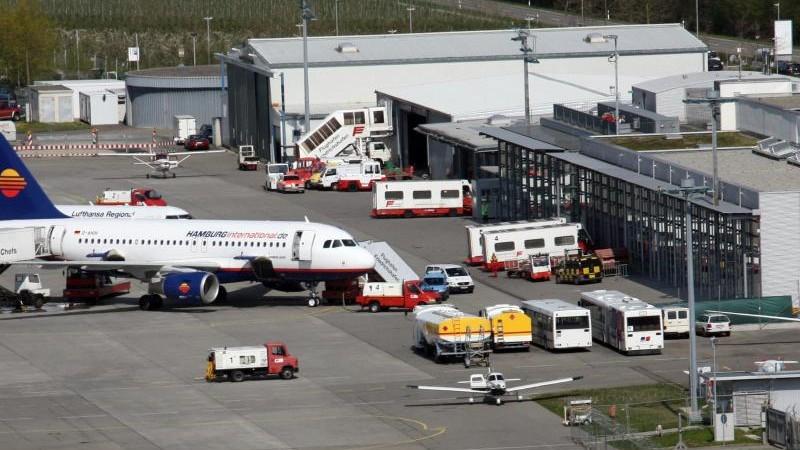 Regionalflughäfen im Süden: Einbrüche bei Passagierzahlen