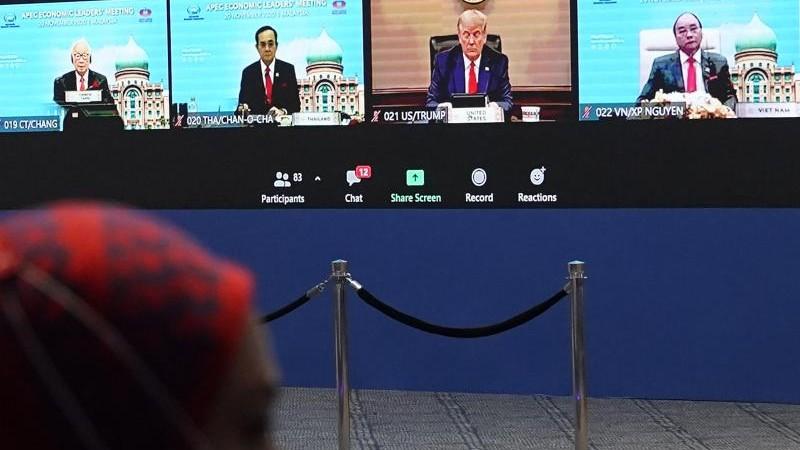 Asien-Pazifik-Gipfel: Trump trifft erstmals wieder Xi