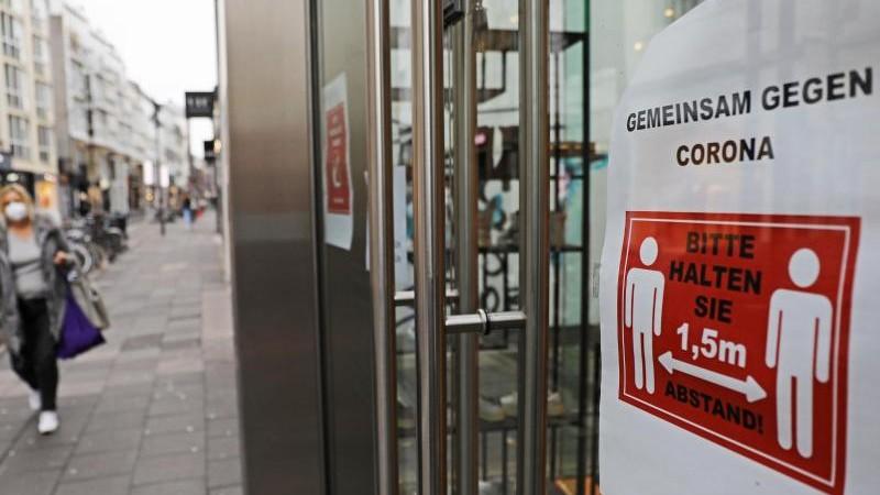 Verband warnt vor Folgen eines Lockdowns vor Weihnachten