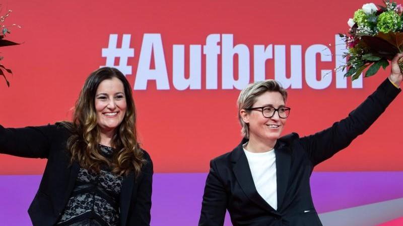 Linke wird künftig von Frauen-Duo geführt