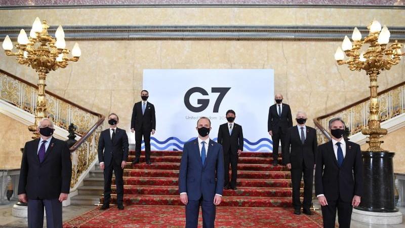 G7-Außenminister ringen um gemeinsame China-Strategie