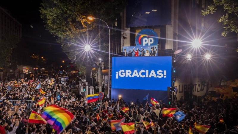 Regionalwahl in Madrid: Wahltriumph der Konservativen