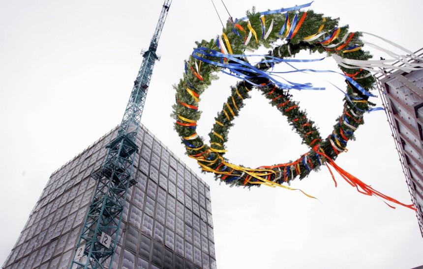 Richtfest fuer Bundesgesundheitsministerium in Bonn