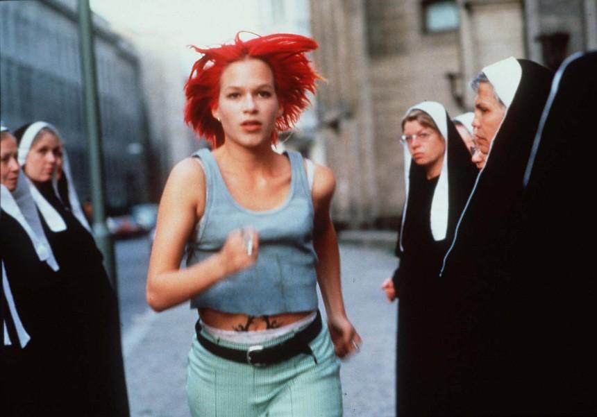 """Franka Potente in """"Lola rennt"""", 1998"""