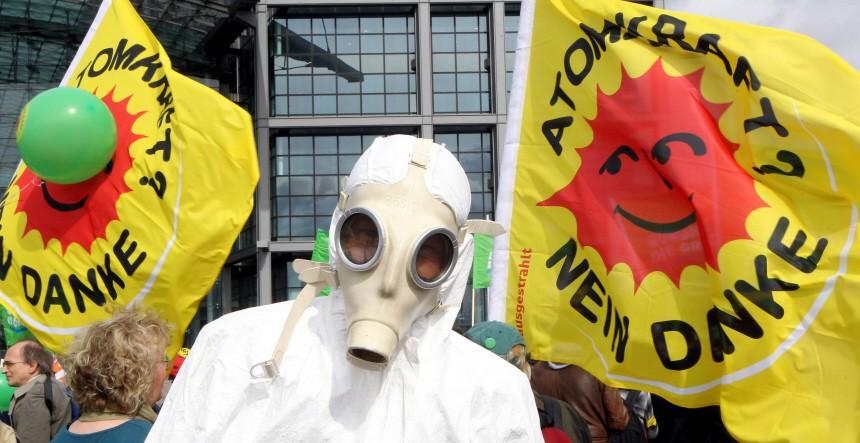 Anti-Atom-Demo in Berlin