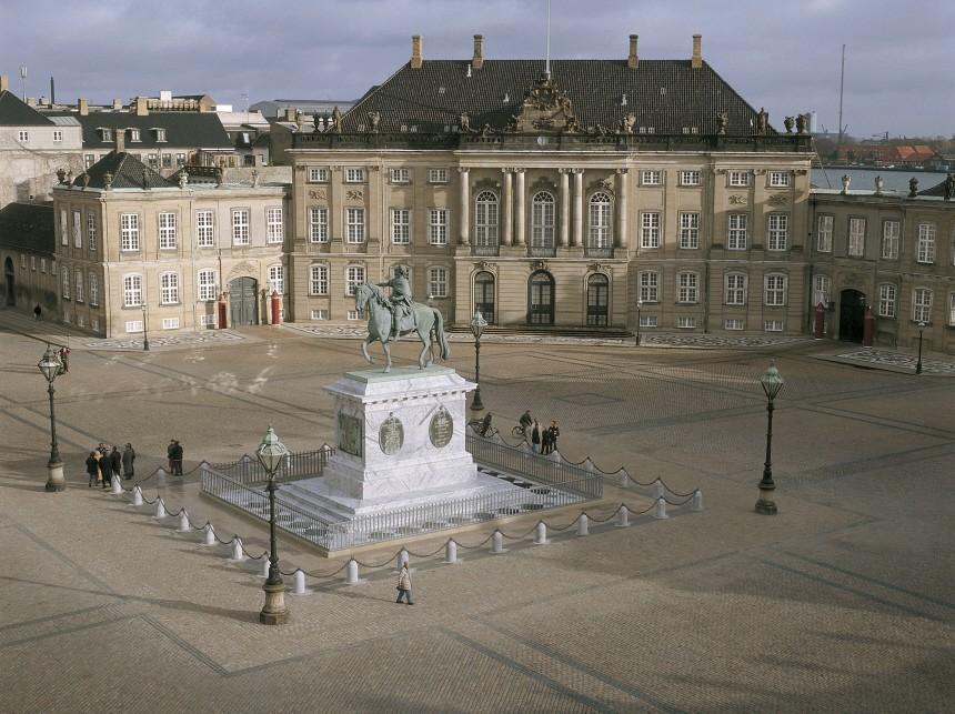 Frederik und Mary übernehmen ihr neues Palais