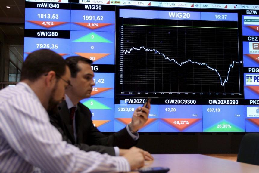 Turbulenzen an den Finanzmärkten - Warschau