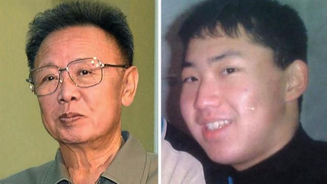 Der kranke Machthaber bereitet die Stabübergabe vor: Kim Jong Il (li.) und sein jüngster Sohn Kim Jong Un.