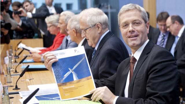 Vorstellung des Energiekonzeptes der Bundesregierung
