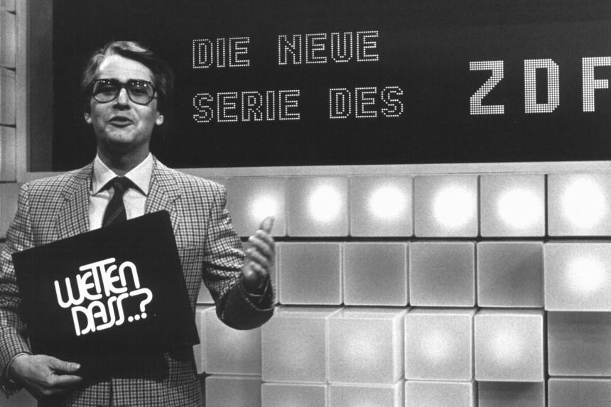 ZDF feiert 25 Jahre Wetten, dass...?