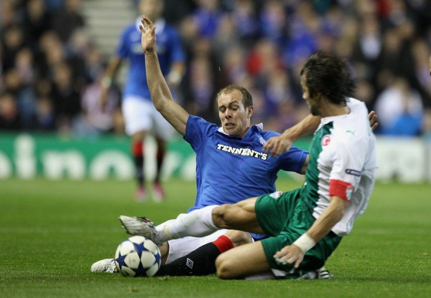 Glasgow Rangers FC v Bursaspor Kulubu - UEFA Champions League