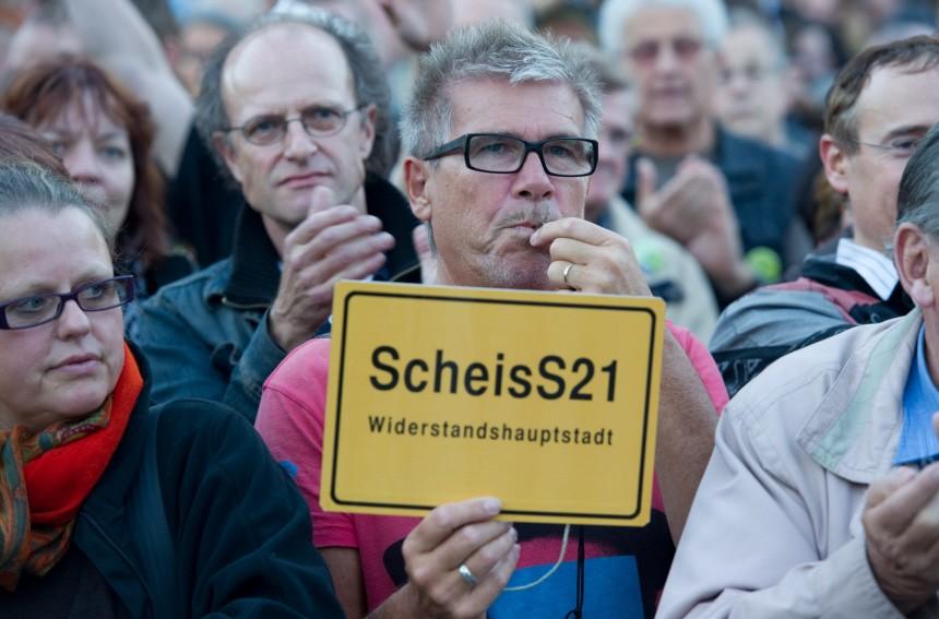Stuttgart 21 - Montagsdemonstration