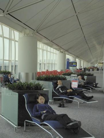 Übernachten Terminal Flughafen Hongkong International Rangliste