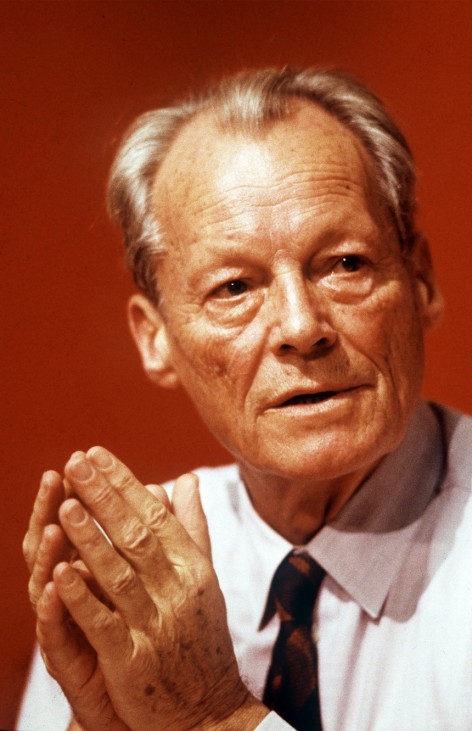 Willy Brandt, 1988
