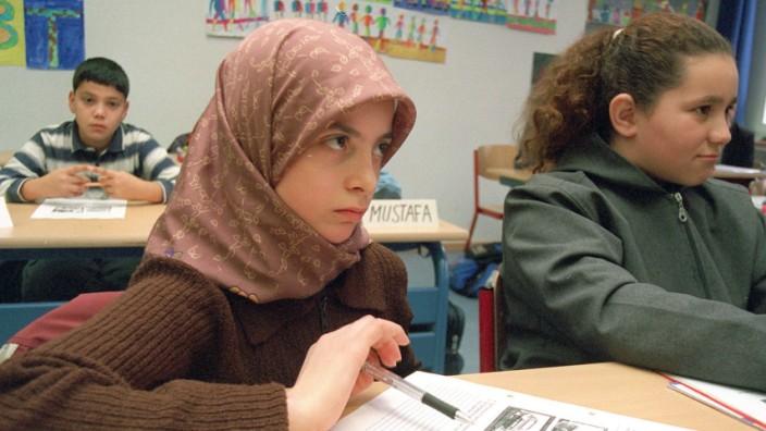 Islamunterricht an einer Kölner Hauptschule