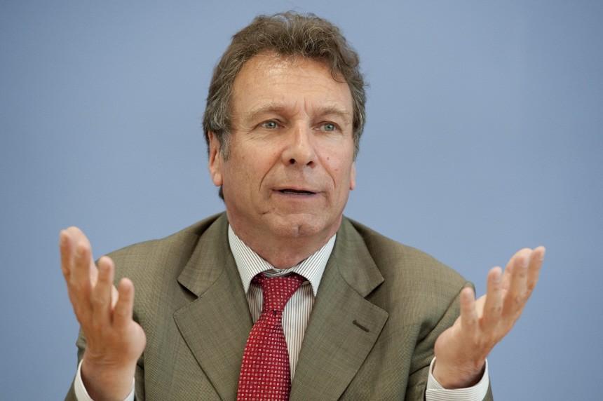 Die Linke - Pk Klaus Ernst